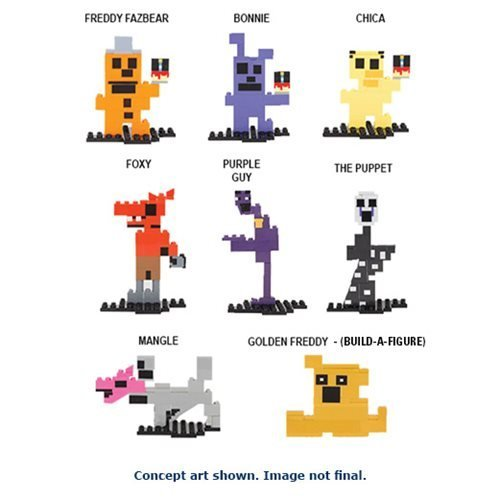 five-nights-at-freddys-8-bit-set-of-7-figures