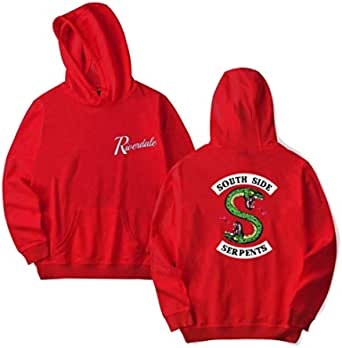 The American TV Show Riverdale Trend Of Men's Hooded Hoodies Red