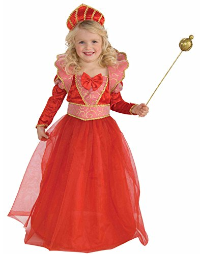Forum Novelties Ruby Queen Costume, Child's Small