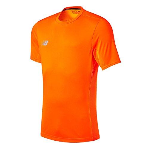 NB Dry Tech S/S Entrenamiento Camiseta naranja