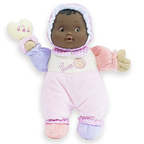 - JC Toys Lil' Hugs African American Pink Soft Body - Your First Baby Doll – Designed by Berenguer – Ages 0+