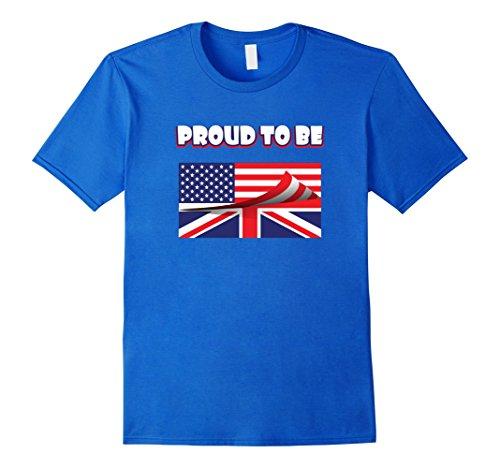 american and british flag shirts - 1