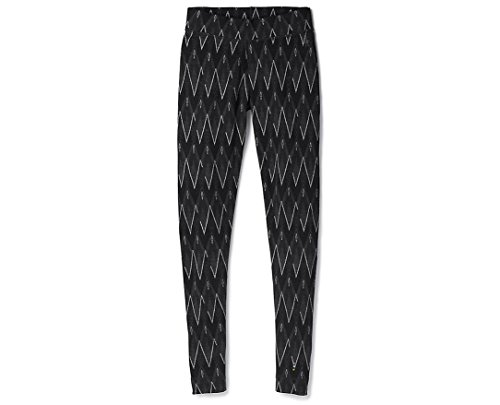 SmartWool Women's Merino 250 Baselayer Pattern Bottom Black-Char H L