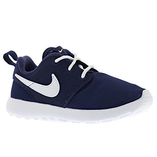 Jungen Nike Roshe One (TD) Kleinkindschuh Mitternachtsmarine / Weiß