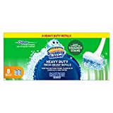 Scrubbing Bubbles Fresh Brush Toilet Cleaning System, Heavy Duty Refills, 8 Brush Pads
