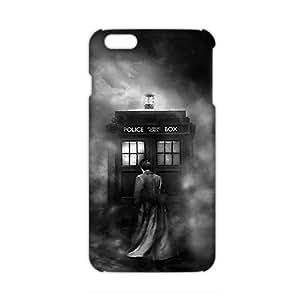 KJHI Doctor Who Tardis 3D Phone Case for iPhone 6 Plus WANGJING JINDA
