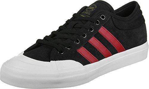 adidas Matchcourt, Zapatillas de Skateboarding para Hombre Negro (Negbas/Escarl/Ftwbla)