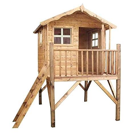 Kingsdale 5 x 5 al aire libre para niños casa de juguete de con
