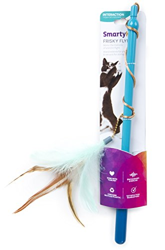 SmartyKat Frisky Flyer Feather Wand