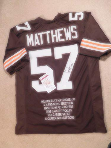 check out 5e209 80410 Clay Matthews Browns Memorabilia, Browns Clay Matthews ...