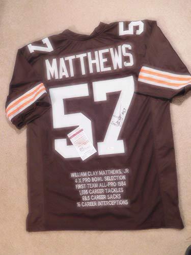 check out a2a81 d6604 Clay Matthews Browns Memorabilia, Browns Clay Matthews ...