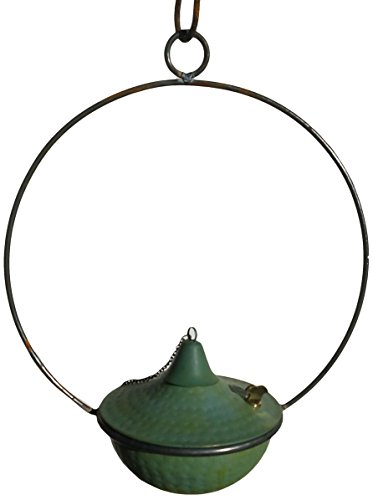 - Passage CH8-1204-WP-TT Hanging Torch, Weathered Hammered Copper