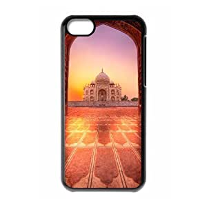 SHJFDIYCase Design Brand NewIndia Taj Mahal Hot Sale Phone Case for Iphone 5C, DIY Cell Phone Case SHJF-507186