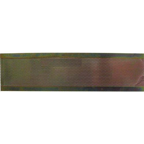 Back Panel - Yellow Zinc, Replacement for Marshall JCM800 (Zinc Panel)