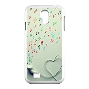 Personalized AXL-365158 Durable Cell Phone Case For SamSung Galaxy S4 I9500 Cover Case w/ Musical notation