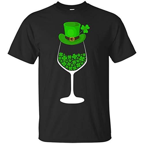 Wine Shamrock Funny St.Patrick's Day Gift Shirt - Unisex ()