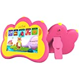 "Kids Tablet, B.B.PAW 7"" Whole Brain Education Tablet para niños 2 to 6 Years Old with 90+ Preloaded Learning and Training Apps-Candy Pink"