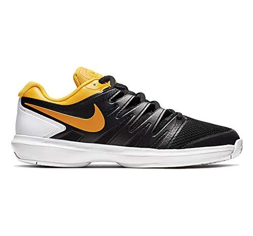 Nike Air Zoom Prestige Mens Tennis Shoe (10.5 D US, Black/University Gold/White) ()