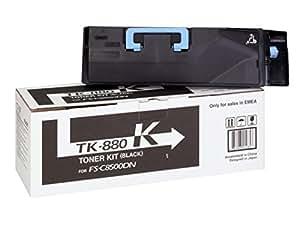 Kyocera Mita TK880K - Cartucho de tóner, color negro