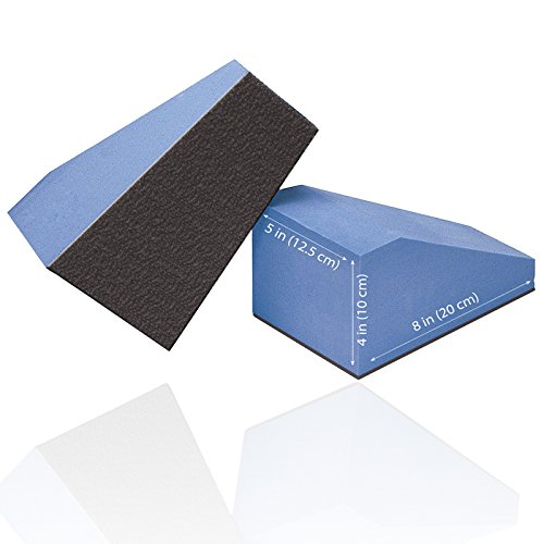 Shape Sacral (Core Products Pro 930 Pelvic Sacral Block, Nonskid, 5