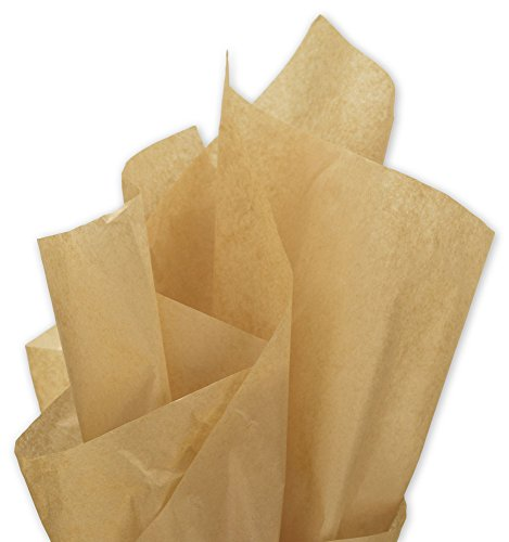 Solid Tissue Paper - Solid Tissue Paper, Recycled Kraft, 15 x 20
