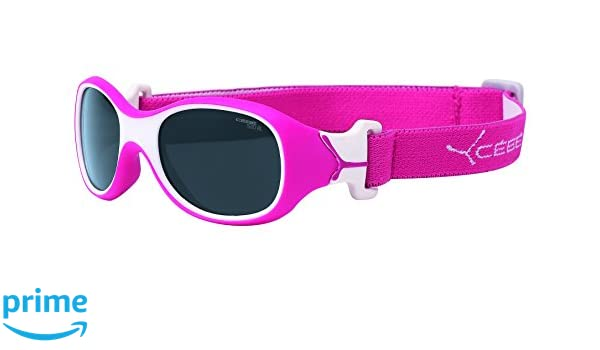 Cebe Chouka 0 To 1 Yrs Kids Sunglasses (raspberry With 1500 Grey Blue Light Lens) AgQ8s6a5