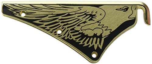 Fire Helmet Eagle (MSA M9P Brass Silk Screened Eagle Front Holder for Cairns)