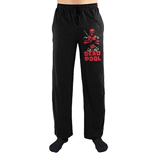 Marvel Comics Deadpool Costume Print Men's Lounge Pants