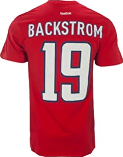 39c86c54853 Reebok Men s Washington Capitals Nicklas Backstrom Premier Player T-Shirt