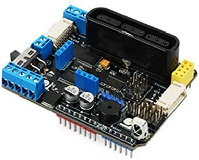 Gaoominy TB6612FNGモータードライバーボードV3.0 PSX2、NRF24L01 +、IRレシーバー、ICポートドライブステッパー付き Adafruitと互換性のある R3用
