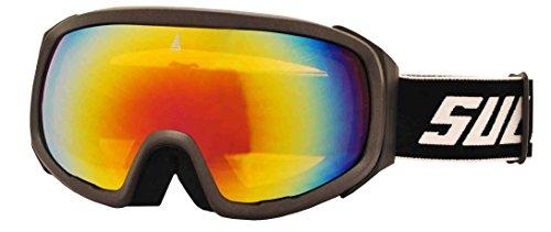 sulov Lunettes de ski Pro, double vitrage Revo taille unique Kohlenstoff