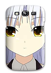 New Premium Flip Case Cover Angel Beats Skin Case For Galaxy S3