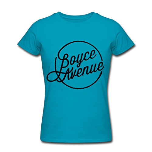 2016 Boyce Avenue Round Logo T shirts for women L