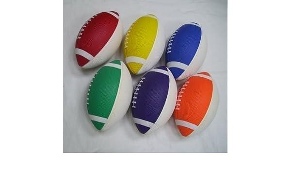 Niños vinilo al aire libre/jardín deportes jugar a la pelota Rugby ...