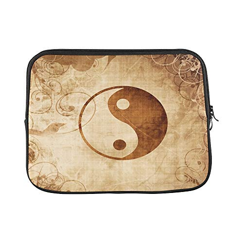 - Design Custom Yin Yang Sign Some Highlights Reflections Sleeve Soft Laptop Case Bag Pouch Skin for Air 11