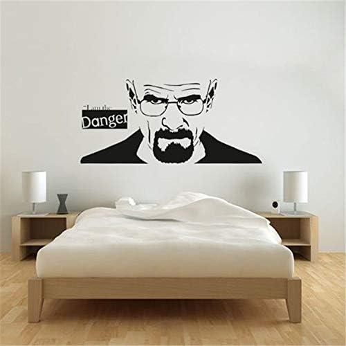 Schnurrbart Wanddekoration Aufkleber Vinyl Movember Dekor Küche