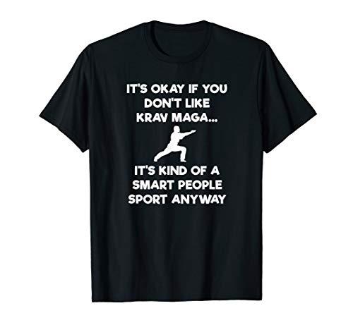 - Krav Maga Self-Defense Funny Shirt - Smart People