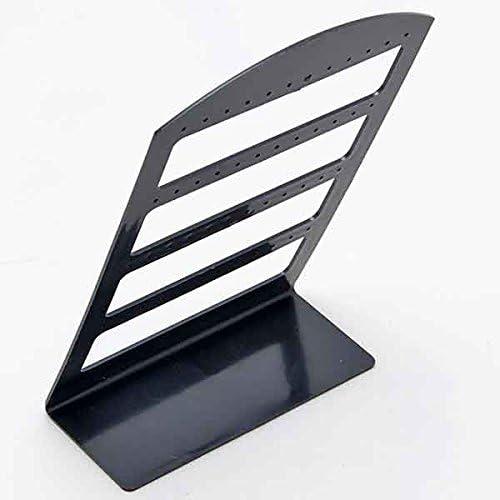 24Pairs Organizer Plastic Retail Display Black Rack Stand Holder Earring Jewelry