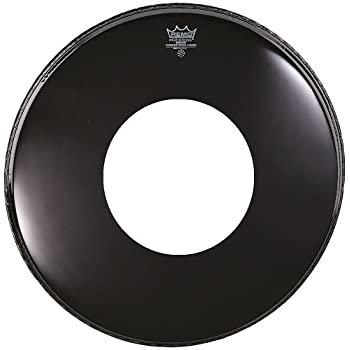 remo ebony powerstroke 3 resonant bass drum head 22 inch musical instruments. Black Bedroom Furniture Sets. Home Design Ideas