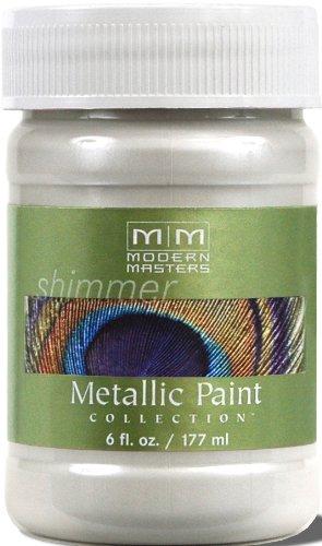 Modern Masters ME196-06 Metallic Pearl White, (Pearl Metallic Spray)