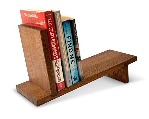Handmade Magazine (MyFancyCraft Handmade - Wood - Book - Shelf Natural Oak Decor - Magazine Holder Organizer Rack)