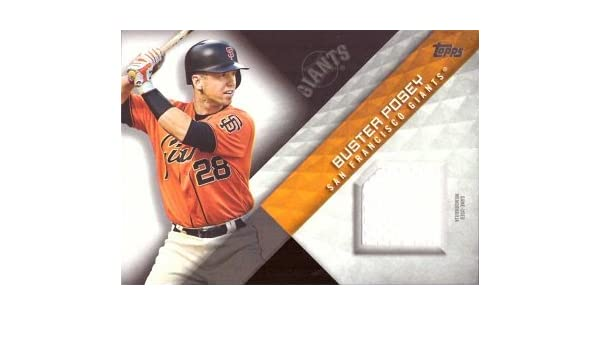 0c6936656 Amazon.com  2018 Topps Relics  MLM-BP Buster Posey Game Worn San Francisco  Giants Jersey Baseball Card  Collectibles   Fine Art