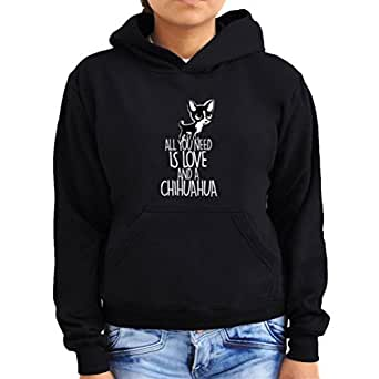 All you need is love and a chihuahua Women Hoodie