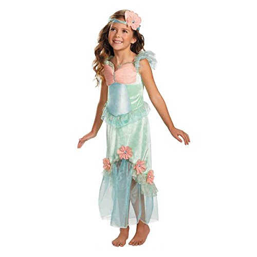 Girls Mermaid Mystical Costumes (Disguise Secret Fairytale Mystical Mermaid Girl's Costume,)