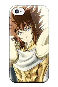 Nannette J. Arroyo's Shop 8871376K63522563 Design High Quality Aries Kiki Gold Saint Fan Art Cover Case With Excellent Style For Iphone 4/4s