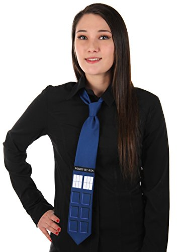 elope Doctor Who TARDIS Neck (Doctor Who Inspired Halloween Costumes)