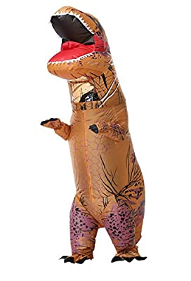Perfect Jurassic park dinosaur giant t-rex dinosaur inflatable costumes for Adults