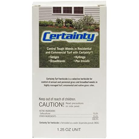 Certainty Turf Herbicide 1 25 Ounces