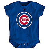 Chicago Cubs Majestic Blue Baby Bodysuit (3-6M)