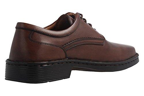 Josef Seibel - Zapatos de cordones de Piel Lisa para hombre marrón marrón